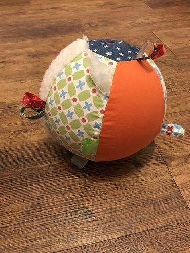 Makerist - Luftballonhülle und Greifball für Babys - Nähprojekte - 2