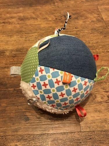 Makerist - Luftballonhülle und Greifball für Babys - Nähprojekte - 3