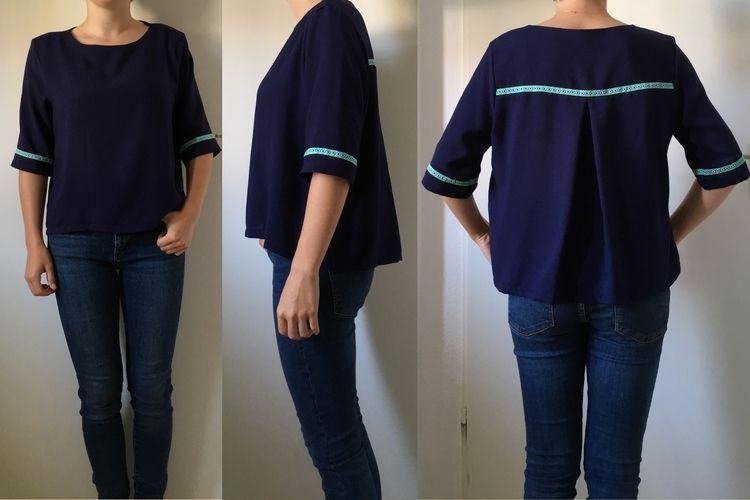 Makerist - Bluse 'Frau Yoko' - Nähprojekte - 1