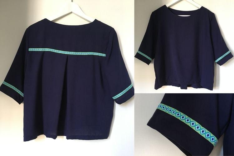 Makerist - Bluse 'Frau Yoko' - Nähprojekte - 2