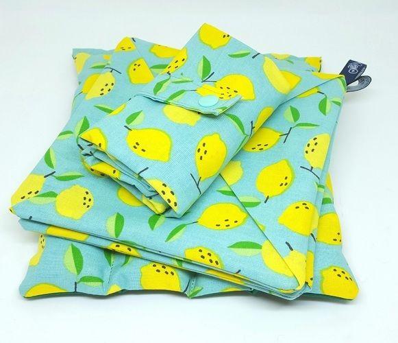 """Makerist - Maniques """"Moulin à vent""""  tissu citrons - Créations de couture - 2"""