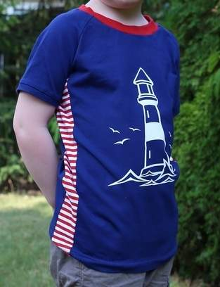 Maritimes Sommershirt