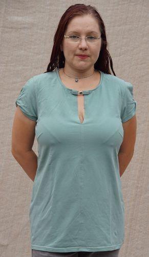 Makerist - Shirt mit verdrehtem Arm - Nähprojekte - 1