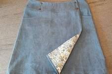 Makerist - Wickelrock aus Jeans - 1