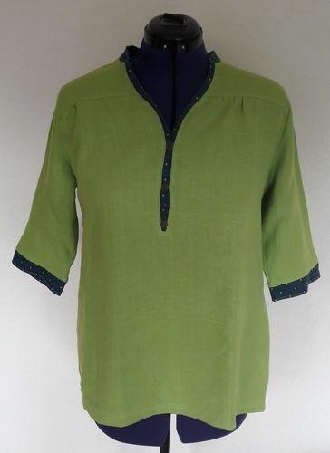 Makerist - Blusen-Shirt aus Leinen von lillesol & pelle - Nähprojekte - 1