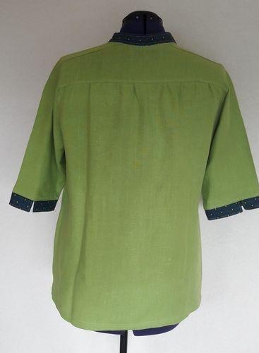 Makerist - Blusen-Shirt aus Leinen von lillesol & pelle - Nähprojekte - 2