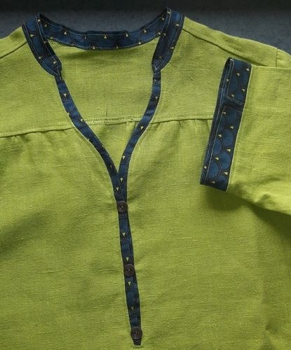 Makerist - Blusen-Shirt aus Leinen von lillesol & pelle - Nähprojekte - 3