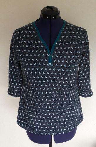 Makerist - Blusen-Shirt aus Jersey von lillesol & pelle - Nähprojekte - 1