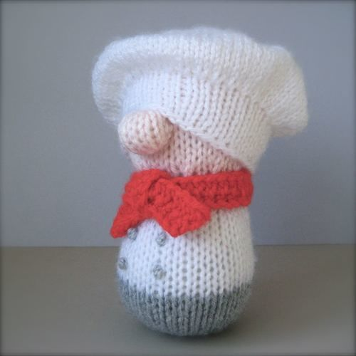 Makerist - Mr Bun the Baker - Knitting Showcase - 3