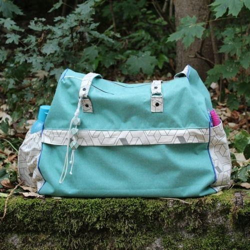 Makerist - Meine große LILO Bag von rosadiy.de  - Nähprojekte - 1