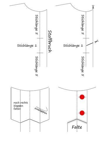 Makerist - Falte und Knopfleiste in einem Zug herstellen - Nähprojekte - 1