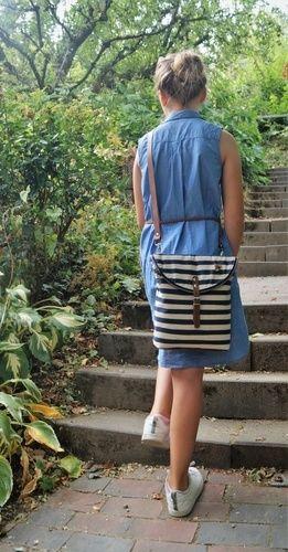 Makerist - Canaria Bag von Unikati-jede Naht ein Unikat - Nähprojekte - 2