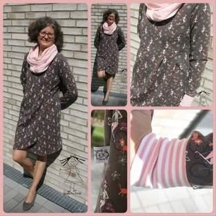 Makerist - Frau Lana von Fadenkäfer zum Kleid verlängert - 1