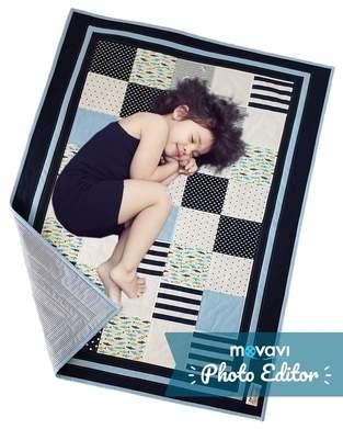 Sunny Sea Feeling Patchworkdecke für Kinder - speziell für Geschwister oder Zwillinge