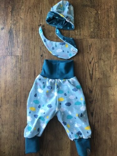 Makerist - Erstlingsset zur Geburt - Nähprojekte - 1