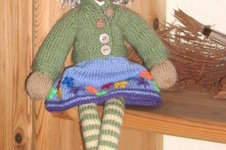 Makerist - Strickpuppe Susi wartet auf´s Christkind!! - 1