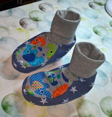 Makerist - Hausschuh für Kinder  - Nähprojekte - 1