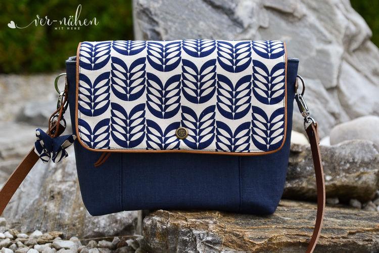 Makerist - Tasche Lina von Zaubernahnna - Nähprojekte - 1