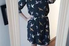 Makerist - Frau Smilla Kleid mit Vögeln - 1
