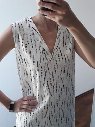 Makerist - Bluse Frau Vinni aus Baumwollstoff - 1