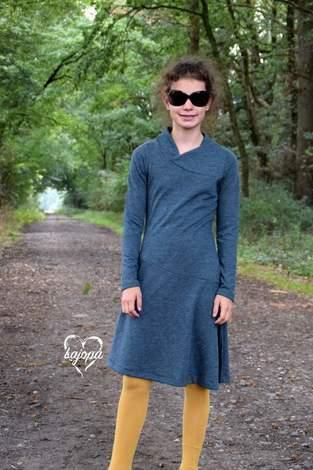 Makerist - Kleid Lykka Kids von Mamili1910 gab es bei uns in schlicht und aus Strick - 1