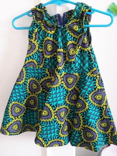 Makerist - Robe vintage de laulaly créations réalisée en wax - Créations de couture - 1