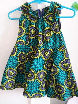 Makerist - Robe vintage de laulaly créations réalisée en wax - 1