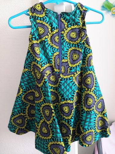 Makerist - Robe vintage de laulaly créations réalisée en wax - Créations de couture - 2