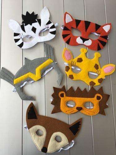 Makerist - Wer bin ich? Masken für Kinder - Nähprojekte - 1