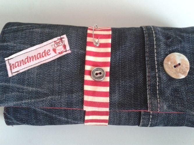 Makerist - jeansgeldbörse - Nähprojekte - 1