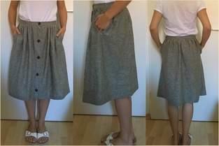 'Afternoon Skirt' aus Leinen
