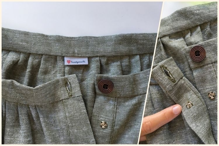 Makerist - 'Afternoon Skirt' aus Leinen - Nähprojekte - 2