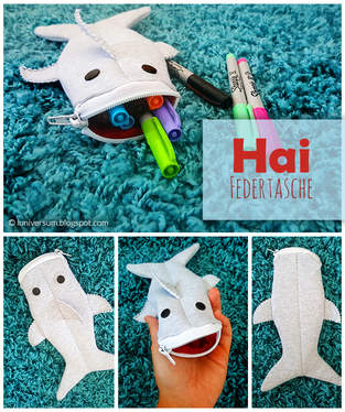 Makerist - Hai-Federtasche nähen - 1