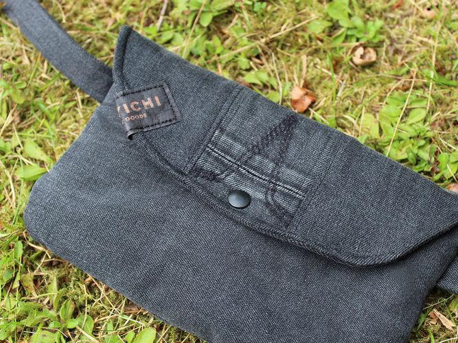 Makerist - Gürteltasche aus einer alten Jeans nähen - Nähprojekte - 1
