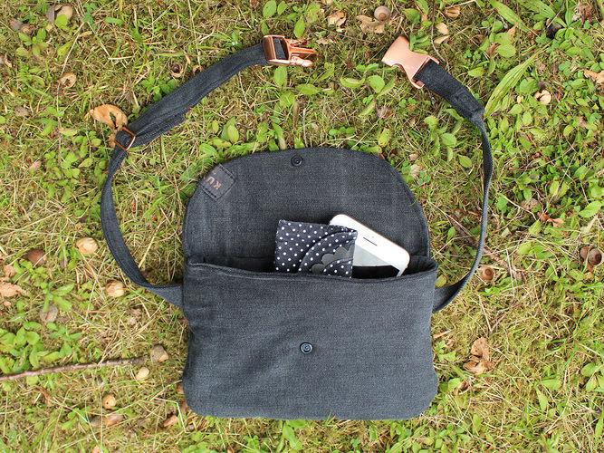 Makerist - Gürteltasche aus einer alten Jeans nähen - Nähprojekte - 2