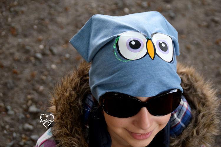 Makerist - Mützen braucht das Kind - nach dem Freebook von Kleiner Polli-Klecks incl. Plottergesicht - Nähprojekte - 1