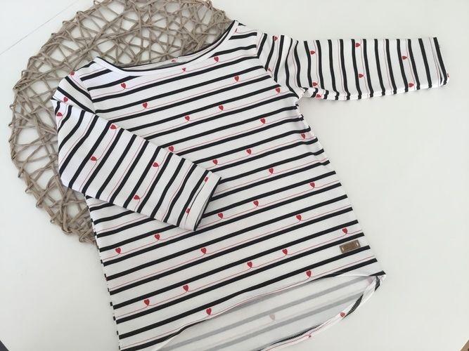 Makerist - Mädchen Shirt  - Nähprojekte - 1