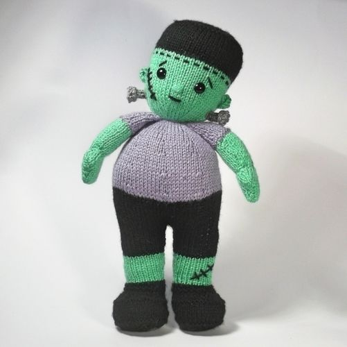 Makerist - Little Frankenstein - Knitting Showcase - 1