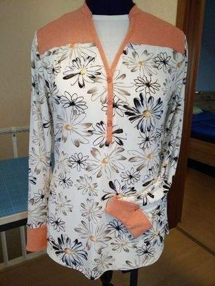 Makerist - Blusenshirt Jersey von lillesol & pele - 1