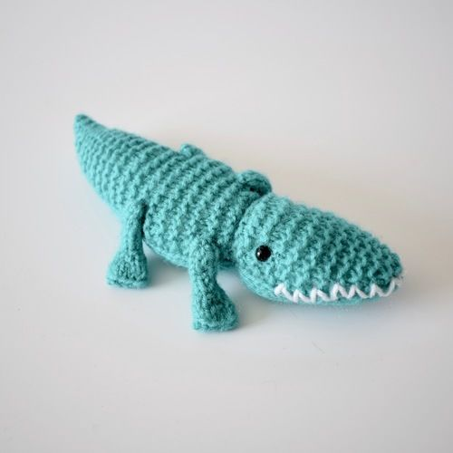 Makerist - Alec the Alligator - Knitting Showcase - 1
