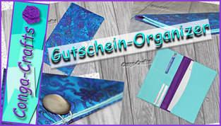 Gutschein-Organizer nähen DIY