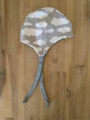 Makerist - Wolken-Elefanten-Wendemütze für Neugeborene - 1