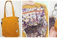 Makerist - Yellow Bag aus Dry Oilskin - 1