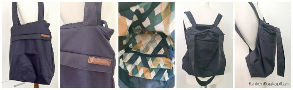 Makerist - Citie Bag aus Nylon - Nähprojekte - 1