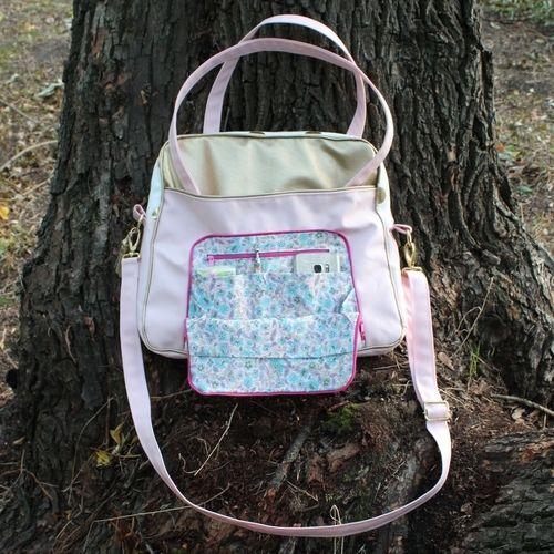 Makerist - Meine RENA Business Bag von rosadiy.de  - Nähprojekte - 3