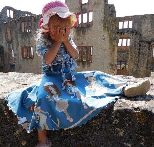 Makerist - Floria Girls - vielseitiges Top zum Kleid erweiterbar - Nähprojekte - 1