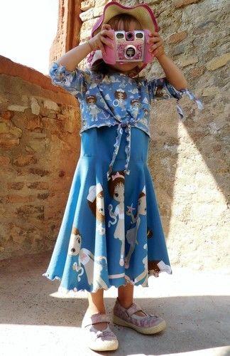 Makerist - Floria Girls - vielseitiges Top zum Kleid erweiterbar - Nähprojekte - 2
