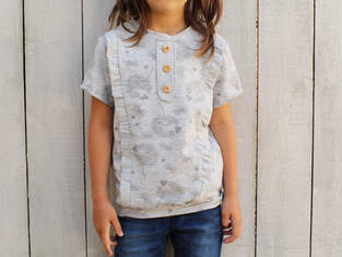Makerist - Shirt Filippa mit Knopfleiste - 1