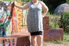 Makerist - Das Faltenshirt von Virginie als Kleid - 1