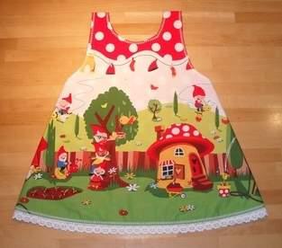 Makerist - Wende-Schürzen-Kleid für Zwerginnen ;o) - 1